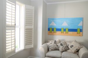 Photo of Normandy® Woodlore Plantation Shutters