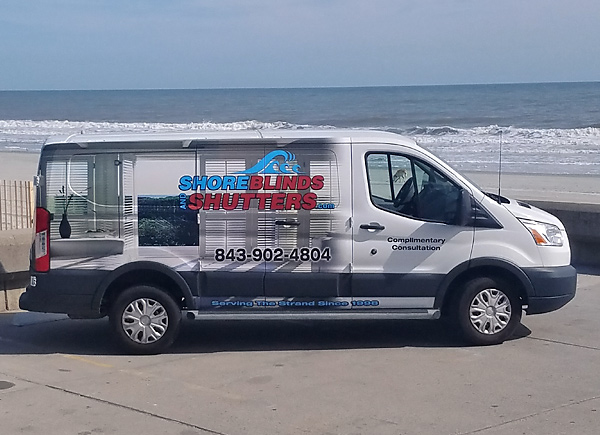 Shore Blinds and Shutters Truck 1 photo