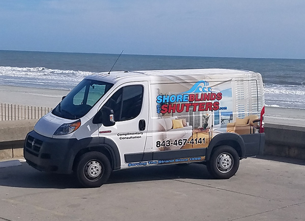 Shore Blinds and Shutters Truck 2 photo